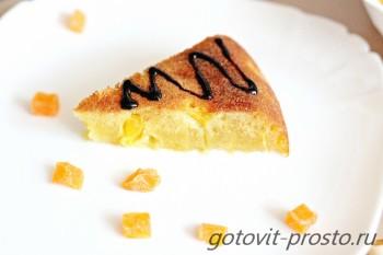 пирог апельсиновый  в мультиварке