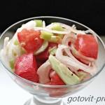 Легкий салат с огурцами – оптимальное овощное блюдо для лета