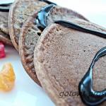 Шоколадные оладьи: рецепт приготовления