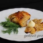 Куриные бедра в духовке с горчицей