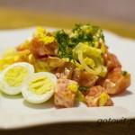 Польза и легкость – салат с луком пореем.