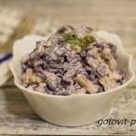 Интересное сочетание продуктов в одной тарелке – салат с красной фасолью консервированной