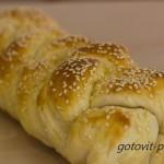 Домашний хлеб с кунжутом