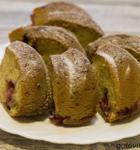 клубничный пирог, рецепт с фото