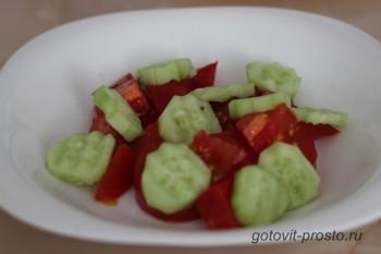 Салат с руколой и помидорами – пошаговый  рецепт с фото