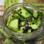 Маринованные огурцы с горчицей – рецепт легкой овощной закуски