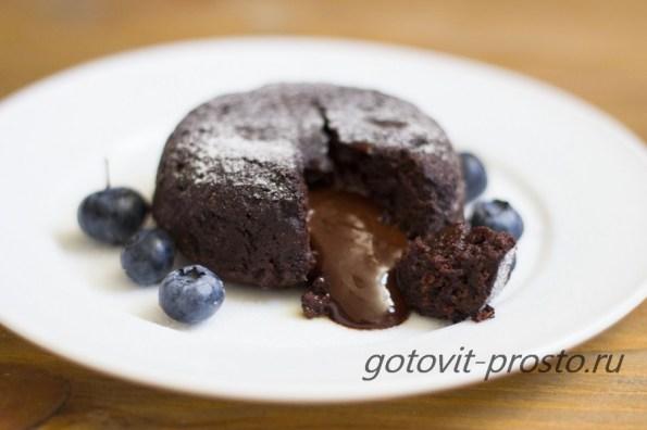 Шоколадный фондано способ приготовления