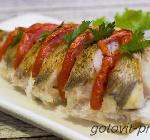 Миниатюра к статье Вкуснейший рецепт запеченного морского окуня в духовке с фото