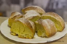 Румяный яблочный кекс – рецепт с пошаговыми фото