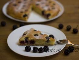 Секрет полезности пирога из свежей ежевики
