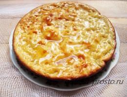 Домашняя выпечка - шарлотка с грушей рецепт с фото