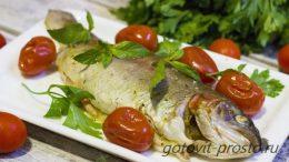 Форель с овощами запеченная в духовке – это вкусно и полезно
