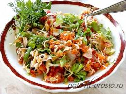 Как приготовить летний салат из капусты
